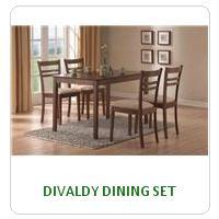 DIVALDY DINING SET